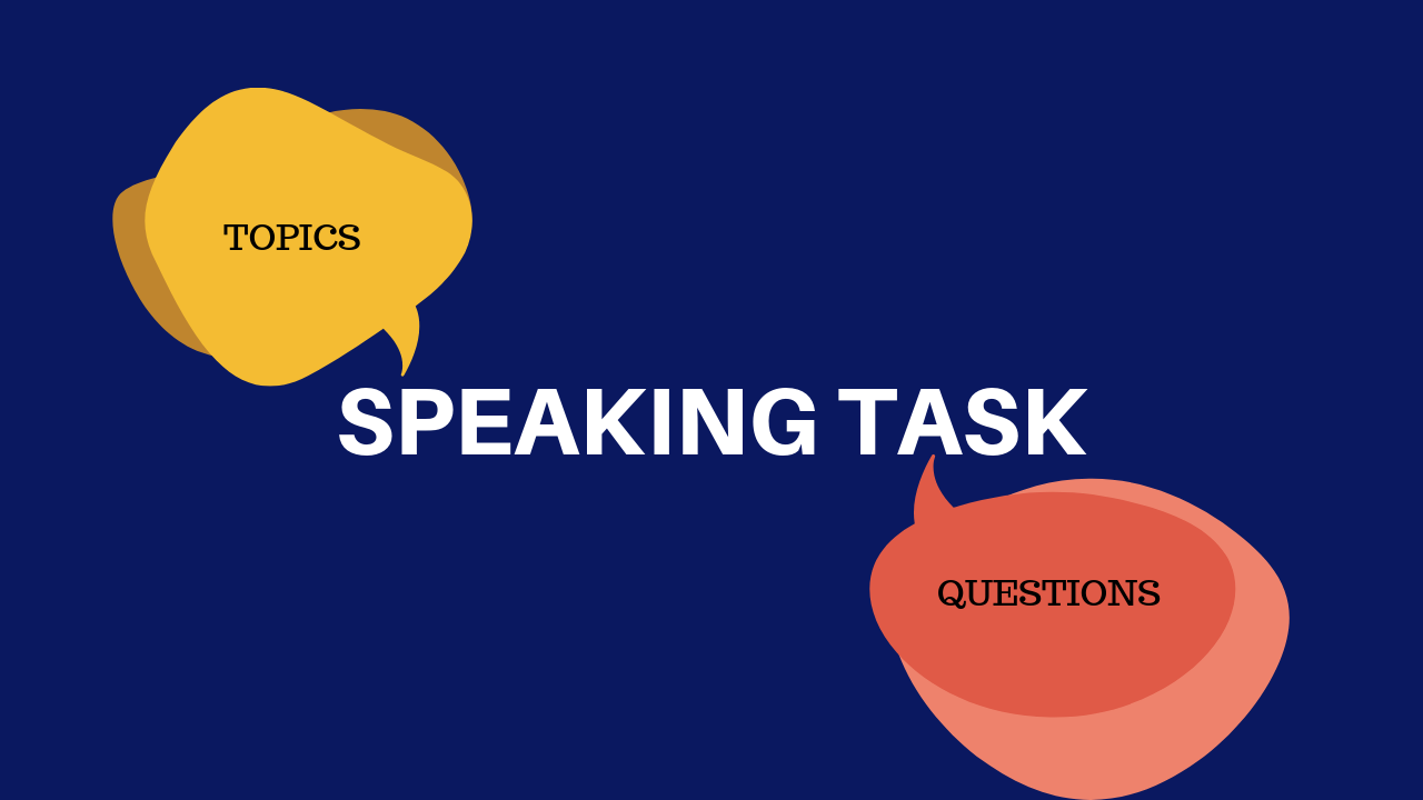Topics and Questions for IELTS Speaking