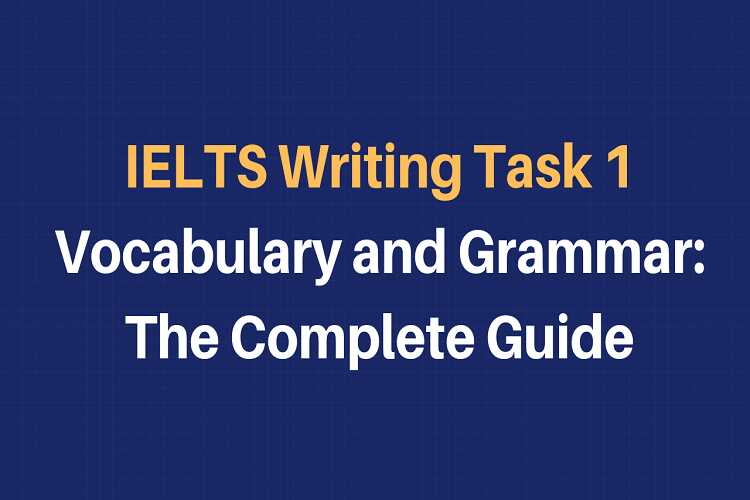 IELTS writing task 1 topic